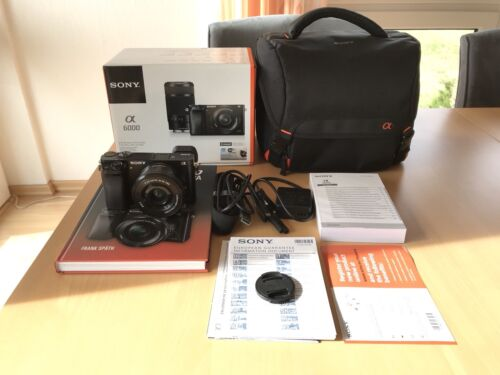 Sony Alpha 6000 DSLM Kit (24 Megapixel) + SEL-P1650 Objektiv