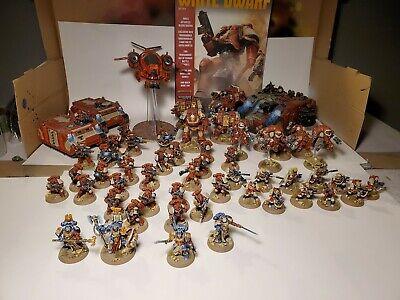 Warhammer 40k blood ravens Space Marine Army Fully Painted
