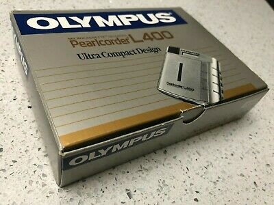 Olympus L400 Microcassette Recorder Pearlcorder Gold Color