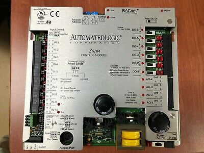 Universal Controller Automated Logic S6104 Bacnet Control Module