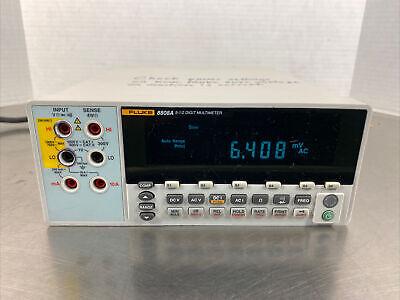 Fluke 8808a 5.5 Digit Bench Digital Multimeter Without Leads.  Mbp