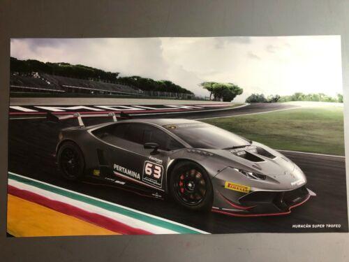 2017 Lamborghini Huracán Trofeo Coupe Picture, Print, Poster RARE!! Awesome L@@K
