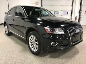 2017 Audi Q5 2.0T Komfort QUATTRO AWD, PANORAMIC ROOF, LEATHER