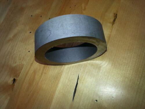 Pure 99.9% Beryllium Metal Sample - 135 grams - thick tube cutoff