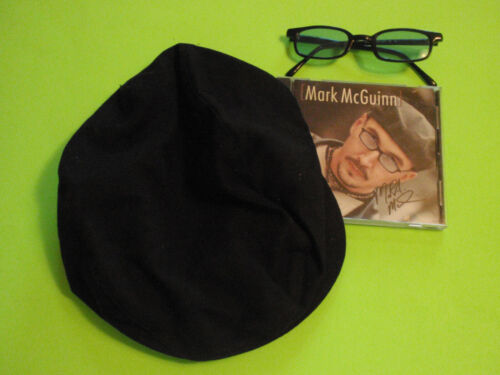 "MARK McGUINN TOP 10 ""MRS STEVEN RUDY"" CD, HAT, SHADES-CTRY MUSIC TREASURE-MINT"