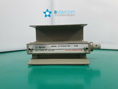 Agilent 8495D Manual Attenuator, 26.5 GHz, 70 dB, 10 dB steps -004