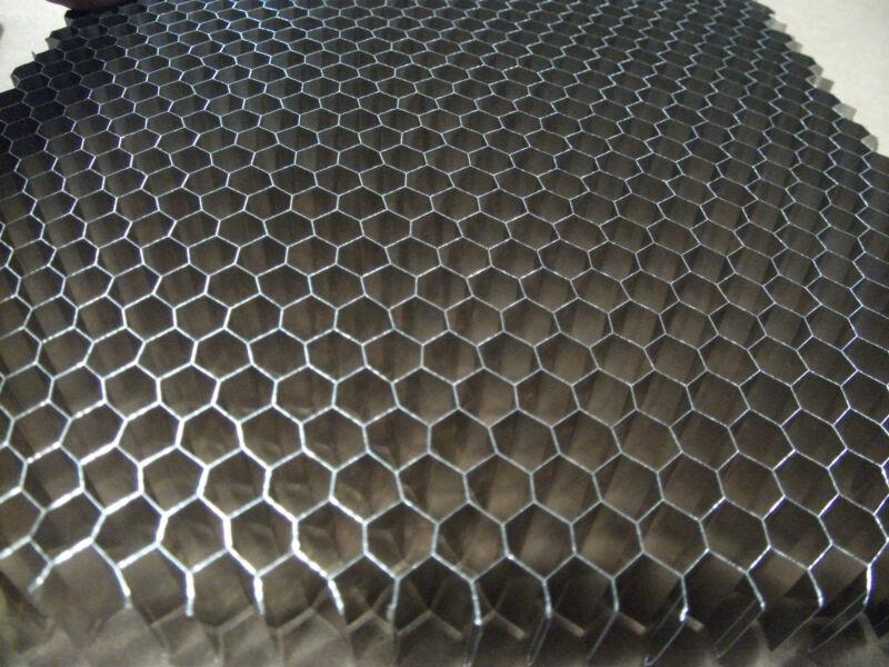 "Aluminum Honeycomb Grid Core Mesh, 1/4"" Cell, 12""x10""x .500"""
