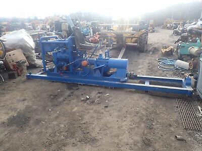 Laney Horizontal Boring Machine Wisconsin Engine V465d Drilling Drill