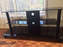 Glass TV stand Angle Park Port Adelaide Area Preview