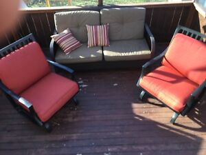 Patio Set Rocking Chairs and Couch