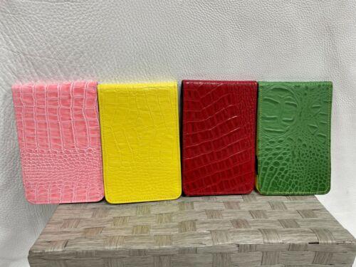 Winston Collection Gator Leather Golf Scorecard & Yardage Book USA PGA 4 Colors