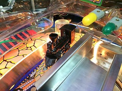 The Train Mod Bally Williams Addams family pinball machine Mod Pinball Pro
