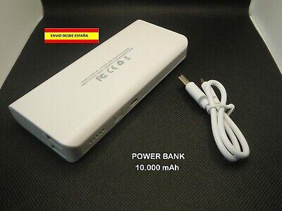 POWER BANK MOVILES BATERÍA AUXILIAR TABLETAS IPHONE ANDROID 10.000 mAh USB