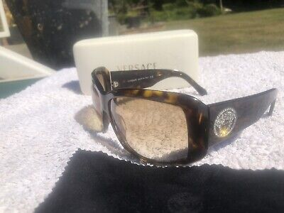 Versace Sunglasses With Crystal Detail Medusa