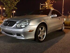 Mercedes C-class coupe, C230 kompressor 2003 !!