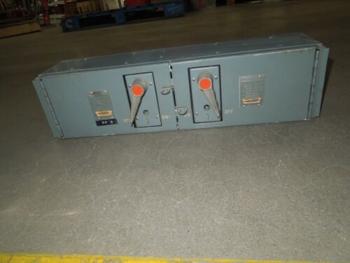 Fpe Qmqb1132 100/100a 3p 240v Twin Fusible Switch Unit Used