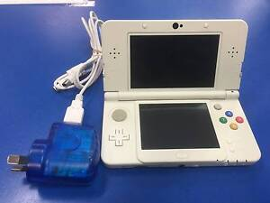 "Nintendo ""NEW"" 3ds With Charger & Covers Pokemon Yellow LOADED Adamstown Newcastle Area Preview"