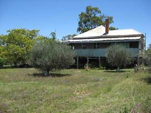 in town 6 res blocks and highset old verandah house. Stanthorpe Southern Downs Preview