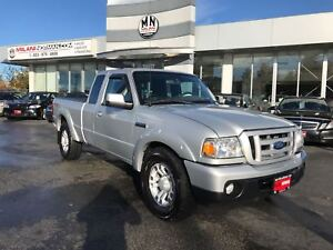 2010 Ford Ranger SPORT 4x4 5 SPEED MANUAL **LOW MILEAGE**