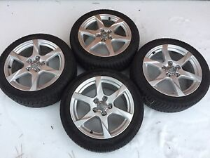 2010 Audi A4 Rims and Tires