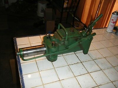 770 Greenlee Hydraulic Unit Only Pipe Tubing Bender Bending Machine No Arms