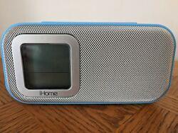 iHome iH22 Colortunes iPod Docking Station Dual Alarm Clock blue