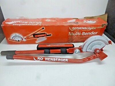 New Rothenberger Multi-bender 90614