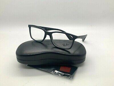 NEW Ray-Ban OPTICAL ORX7047 5196 BLACK EYEGLASSES FRAME (Ray Ban Prescription Eyeglasses)