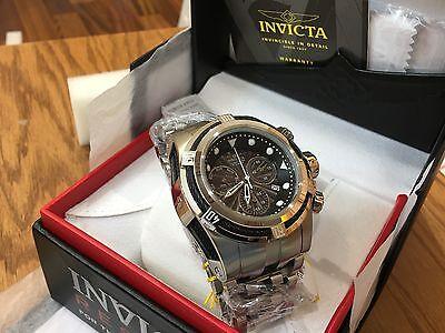 23908 Invicta Men's 53mm Bolt Zeus Swiss Parts Chronograph SS Bracelet Watch