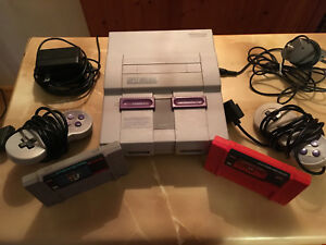 SNES & Two Games