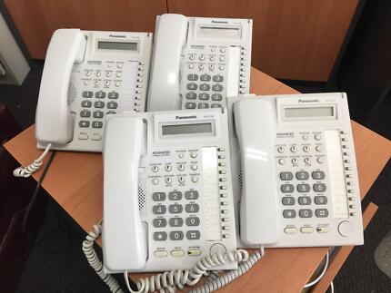 phone handsets panasonic East Perth Perth City Area Preview