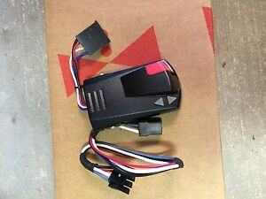 Trailer brake controller with ford connector