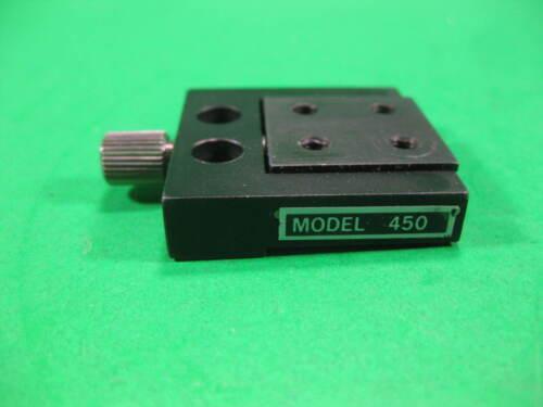 "Newport 450 Miniature Stage Compact Ball Bearing 1"" x 1"""