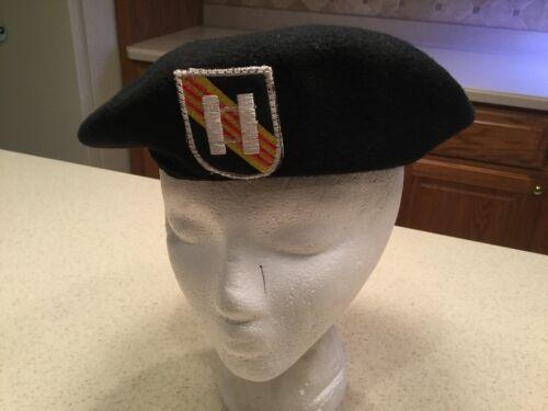 Vintage Vietnam Beret Hat Cap Wool US Special Forces