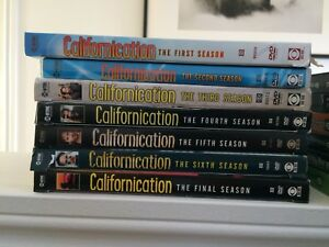Californiacation DVD complete series