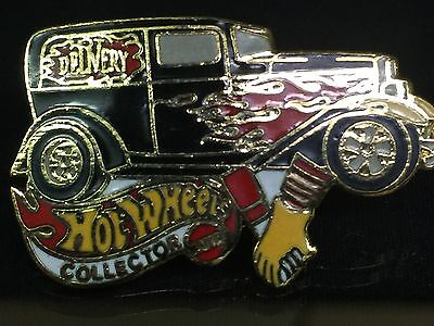 32 Ford Delivery Hot Wheels Collector Metal Hat Lapel Pin Limited
