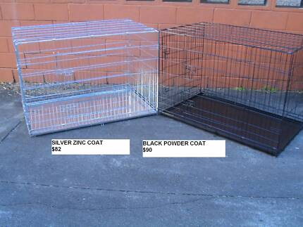 NEW JUMBO Collapsible Metal Dog Puppy Cage Crate with METAL TRAY Coorparoo Brisbane South East Preview