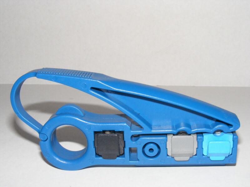cat 5e cat 6 7 cable utp stripper tool ideal for coax nib cable Prep Tool Coax