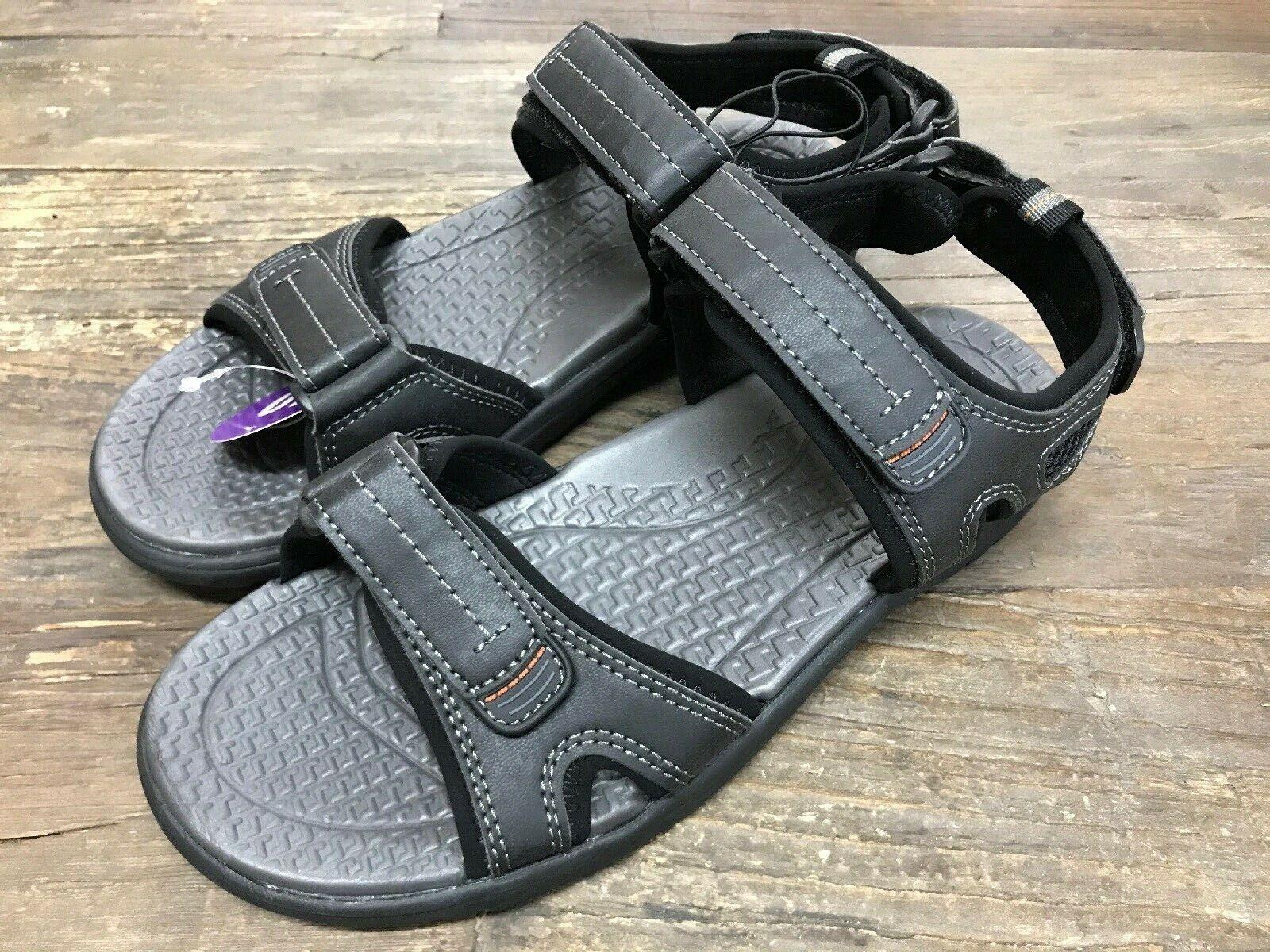 Khombu Men's River Sandals - Mens BLACK (Select Size)