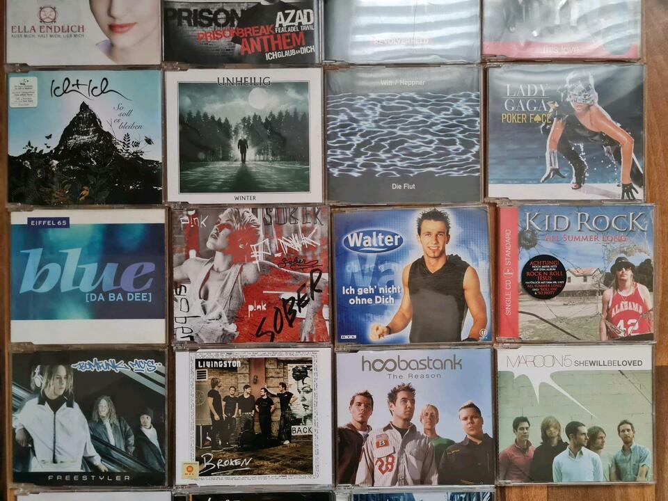 Verschiedene CD's in Döbeln