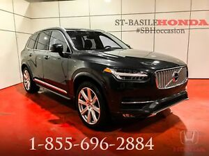 Volvo XC90 2016 T6 INSCRIPTION + 7 PASSAGERS + NAV + WOW !!!