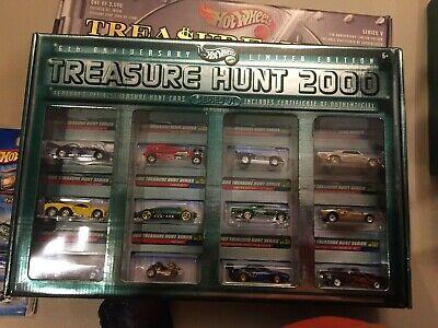 Hot Wheels Limited Edition 2000 Treasure Hunt Set 1 of 3500