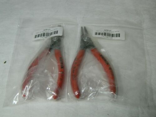 """Rotor Clip DHO Internal Retaining Ring Pliers 5-1/2"""" OAL RPN-J1"""