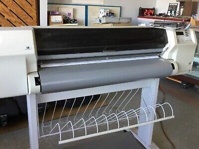 Hp Designjet 2500cp Injet Printer Plotter