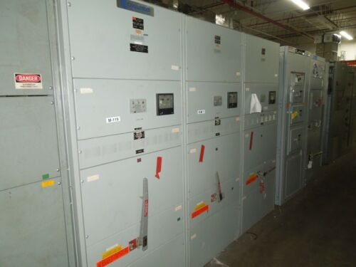 Challenger/fpe Fa-1 2000a 480/277 Mlo Switchboard W/ 3 Feeders - 1200a 600a 400a