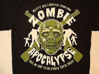 Happy Halloween Hunting Zombie Apocalypse