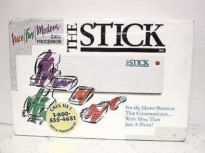 NEW, SEALED The Stick Voice/ Fax/ Modem Call Processor  on Rummage