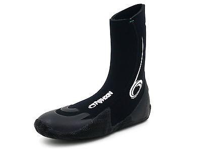 Adults Typhoon Vortex 5mm Neoprene Pull On Surf / Aqua / Wetsuit Boots - Vortex Neopren Wetsuit
