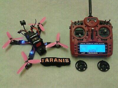 RC Racing Drone Xhover Stinger Kiss FC Taranis X9D 5.8GHz FPV Lipo Quadcopter
