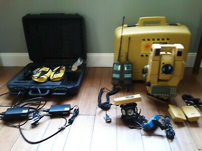Topcon Gpt-8005a Robotic Prism-less Total Stationwrc-2h-2r 360 Prsatel Radio